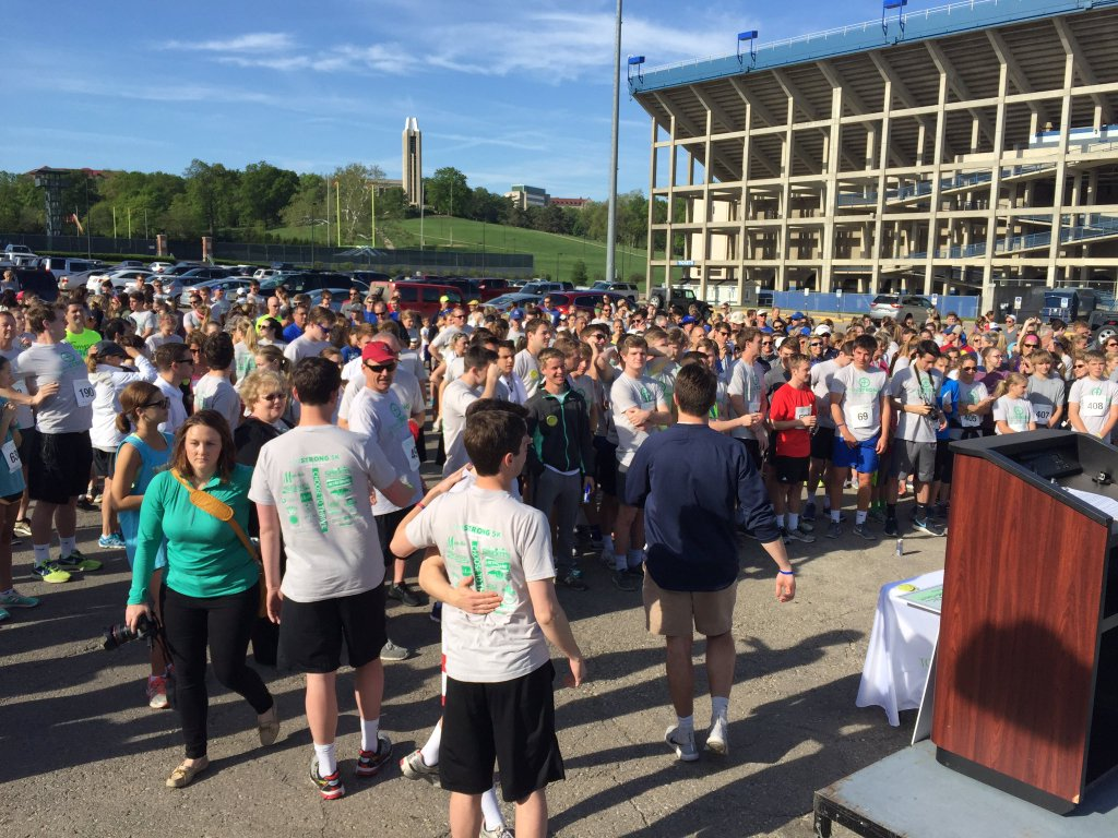 TomStrong 5K helps raise money for Scholarship