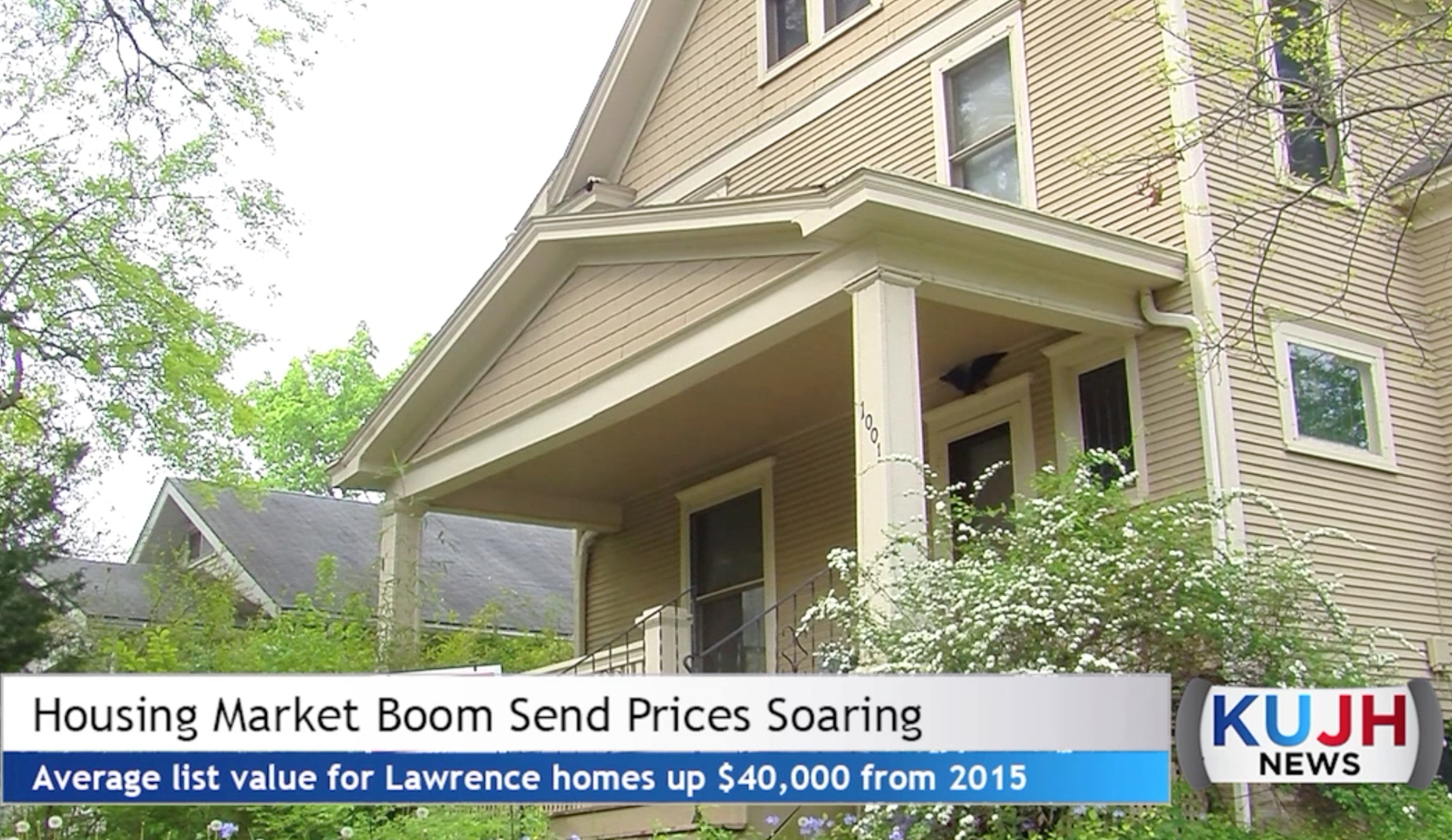 Lawrence Housing Market Experiencing Boom