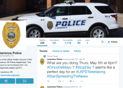 Lawrence Police Department to Host 'Tweet-Along'